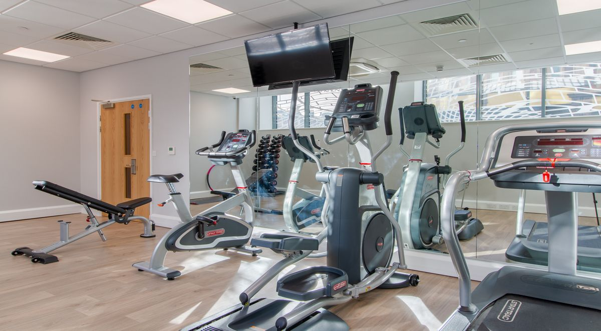 Gym Straits Manor Student Accommodation Sheffield