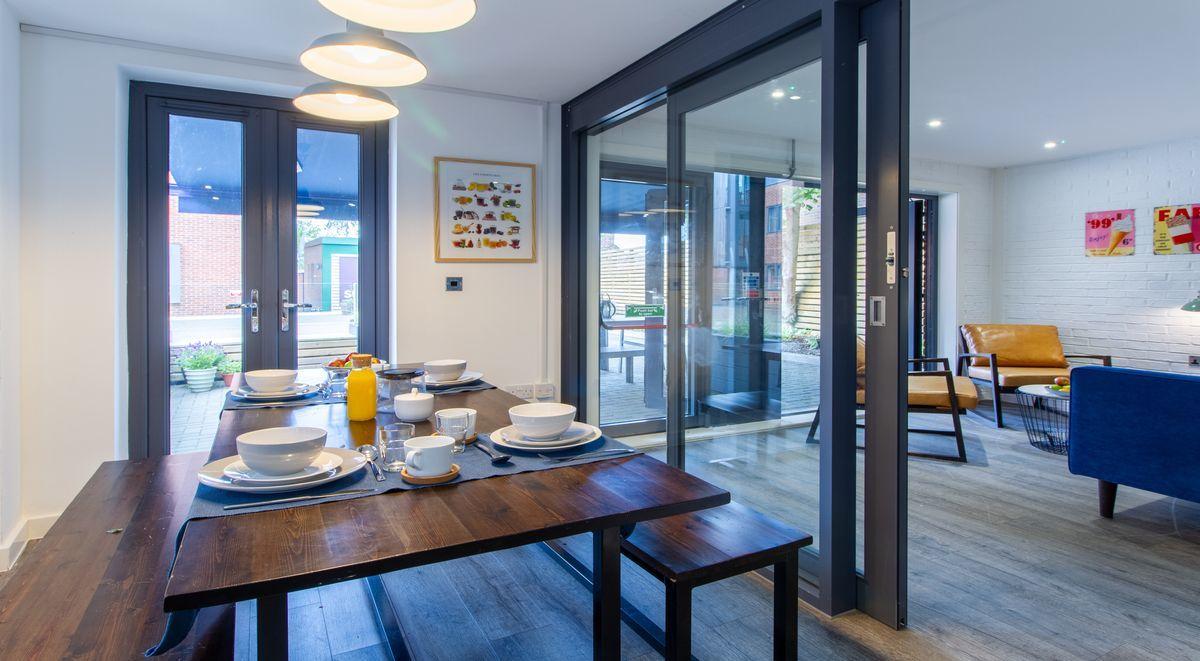 Student Accommodation St Giles Studios Shared Kitchen