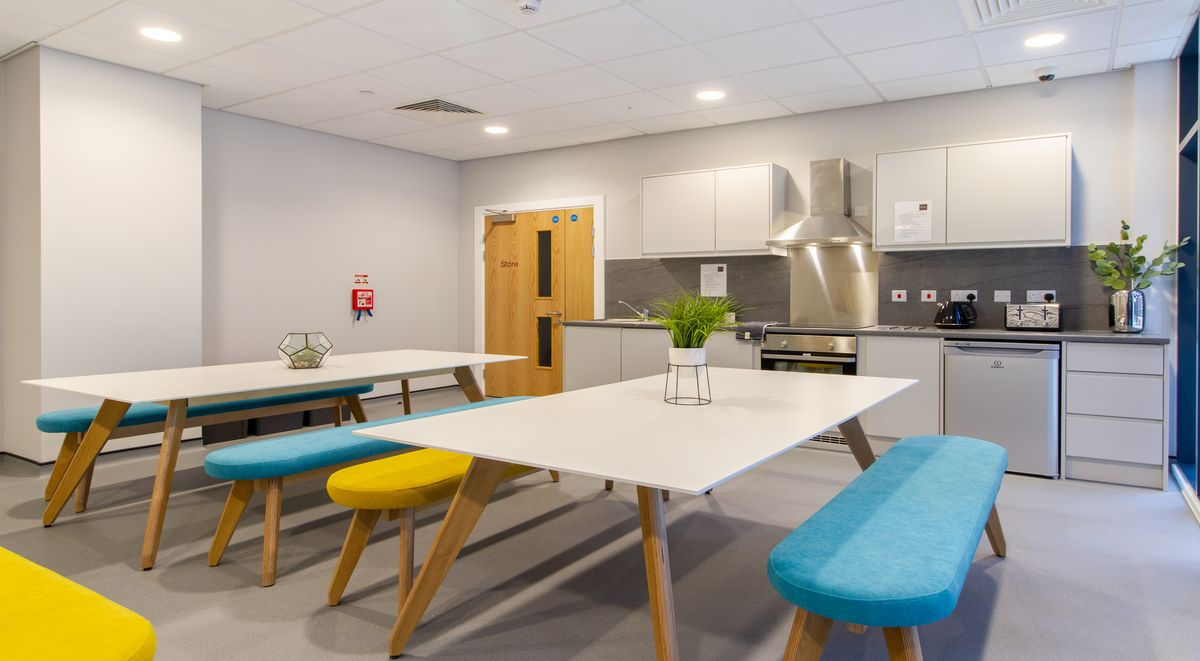 Shared Kitchen Straits Manor Student Accommodation Sheffield