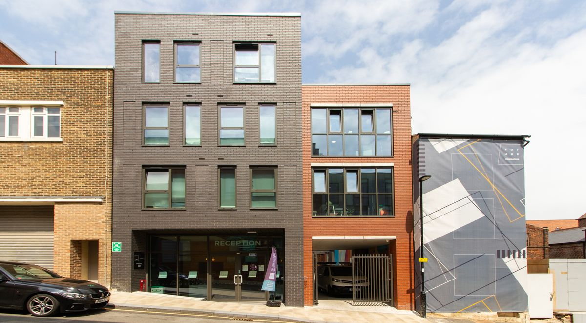 Steel City Exterior Student Accommodation Sheffield