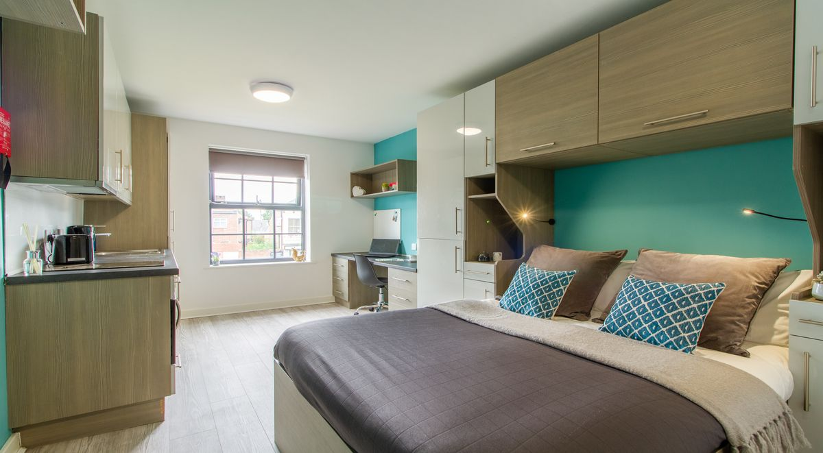 Student Accommodation St Giles Studios Standard Studio