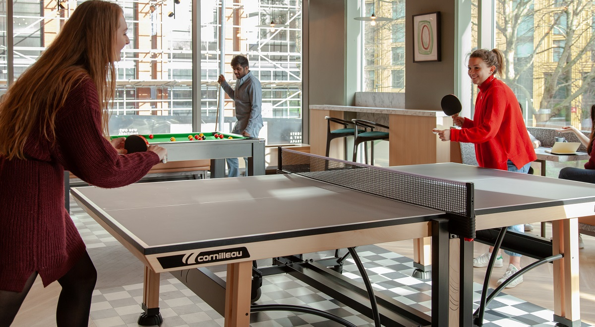 Student Accommodation Leeds Games Room