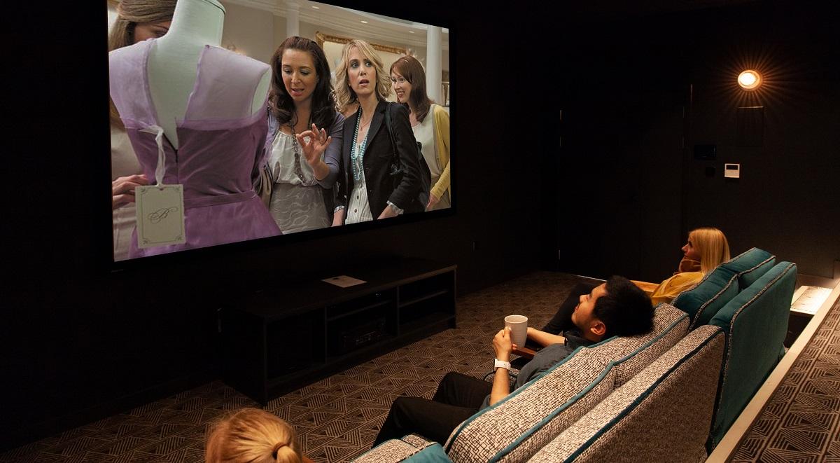 Student Accommodation Leeds Cinema Room