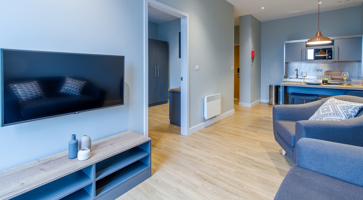 1 Bed Apartment Crown House Sheffield