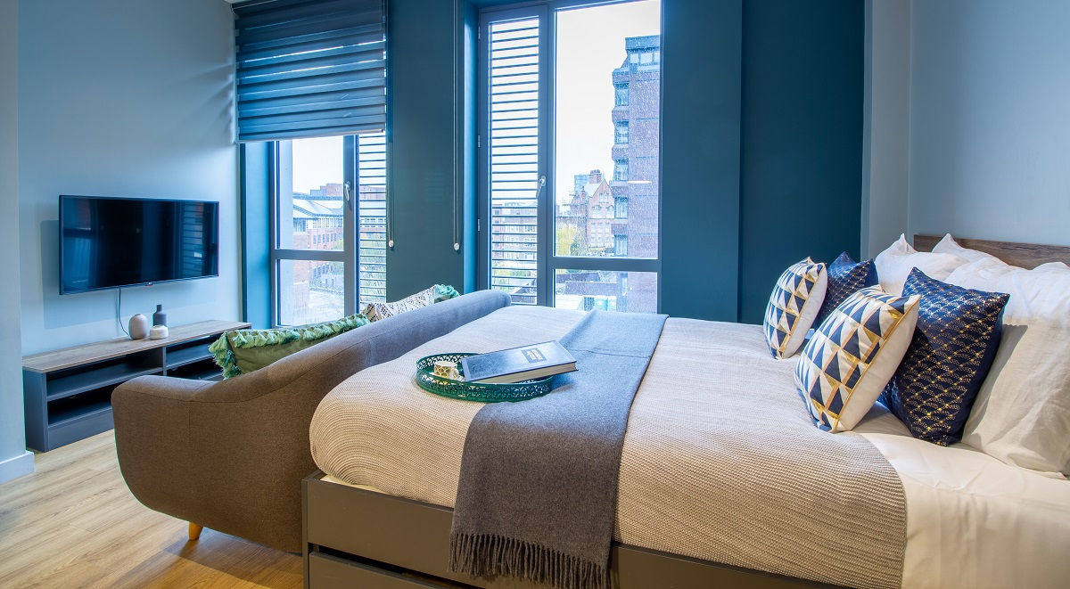 Luxury Plus Studio Crown House Sheffield