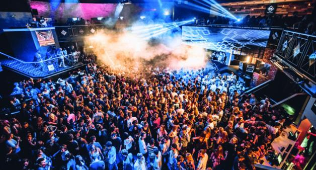 image of people in a club