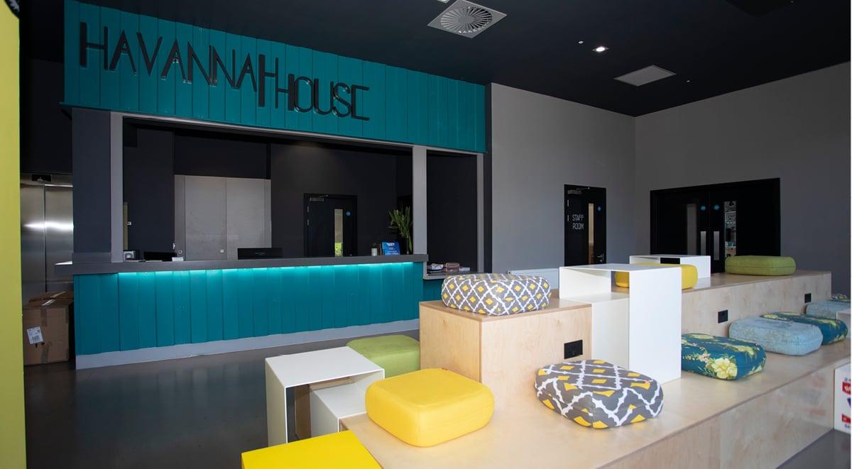 Reception Havannah House Glasgow