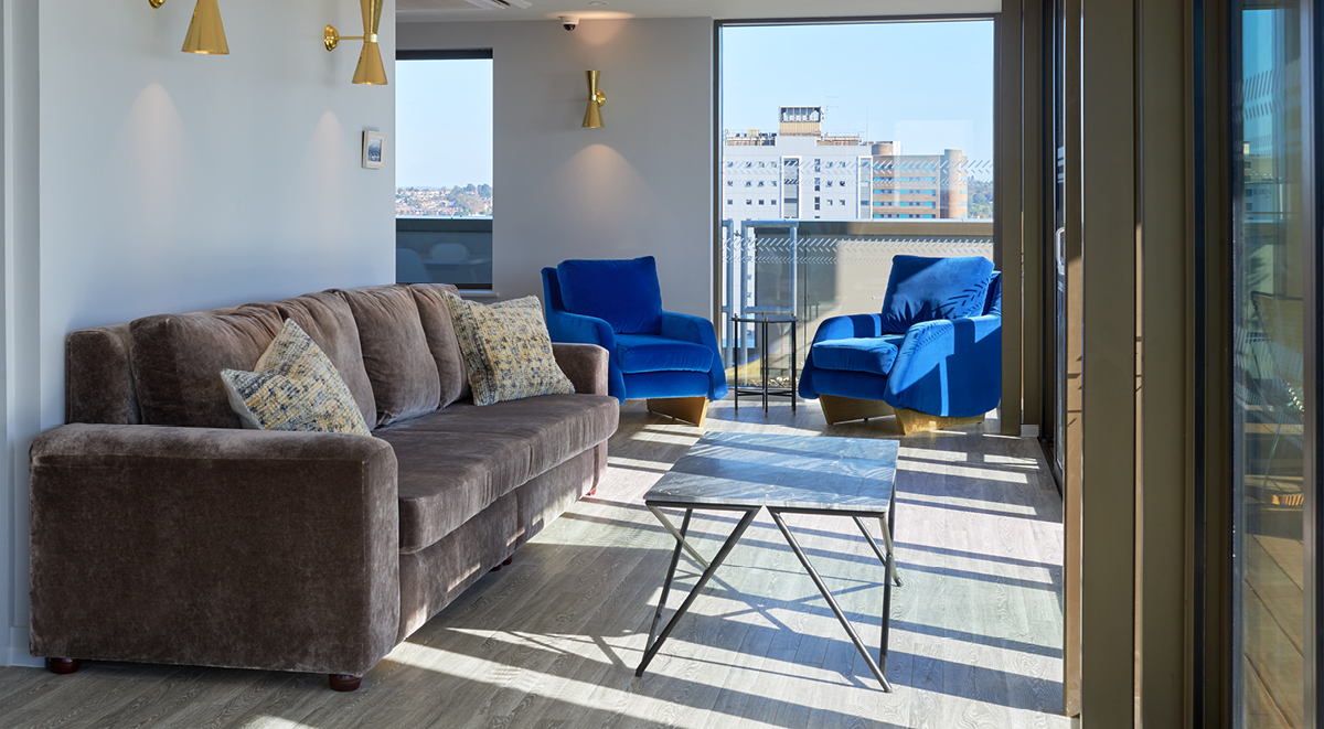 Student Accommodation Southampton Cumberland Place Sky Deck