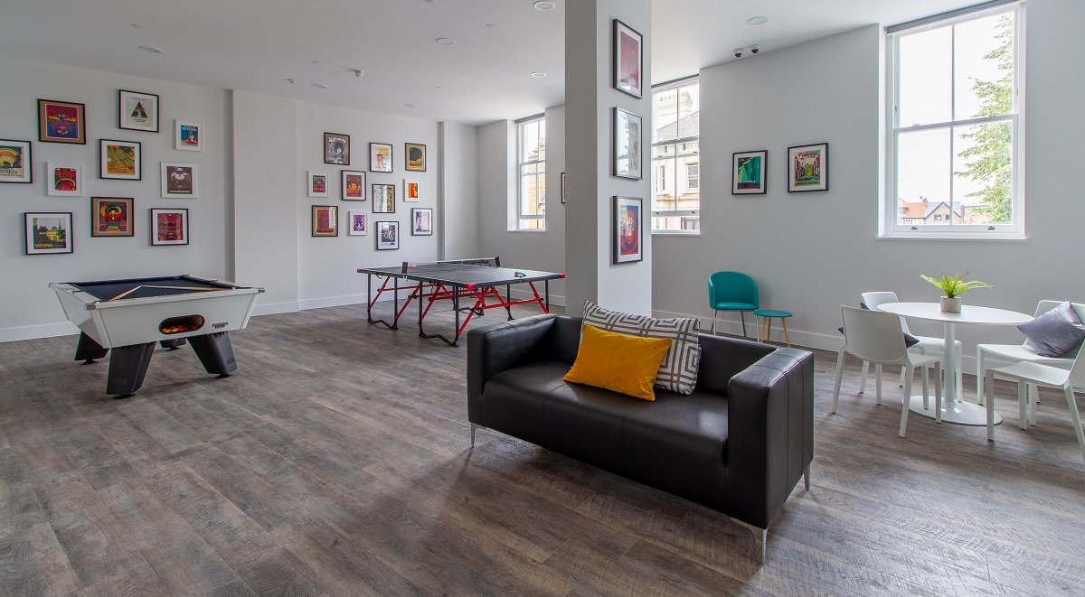 Opera House Communal Area Student Accommodation London