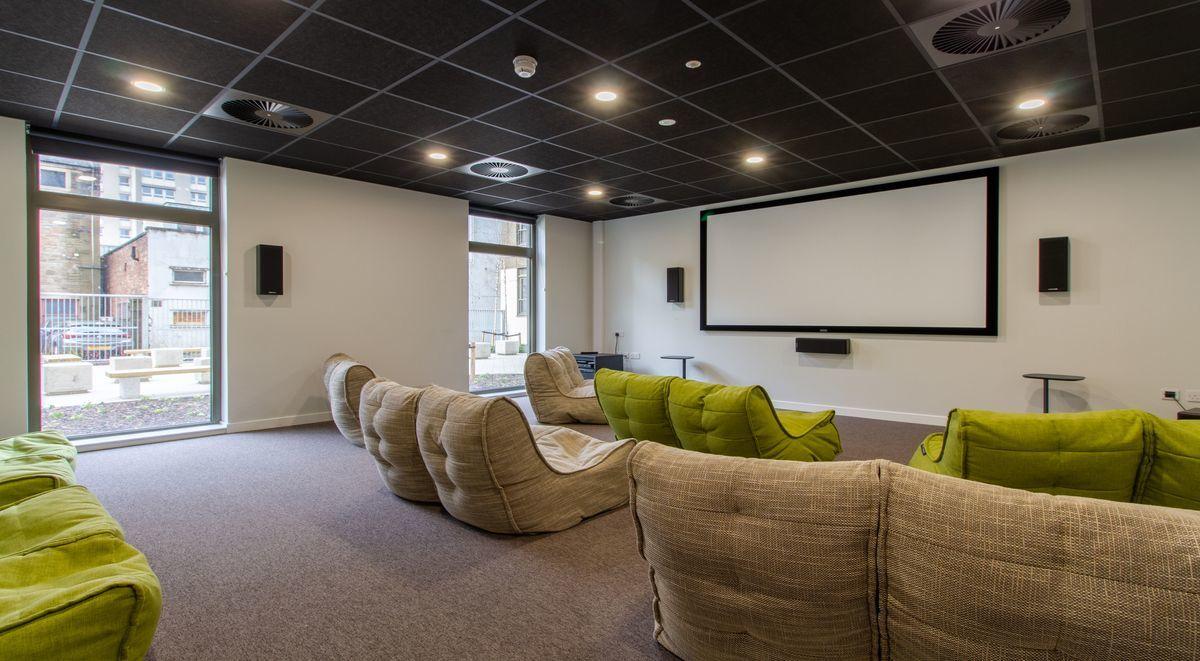 Base Glasgow Cinema Room