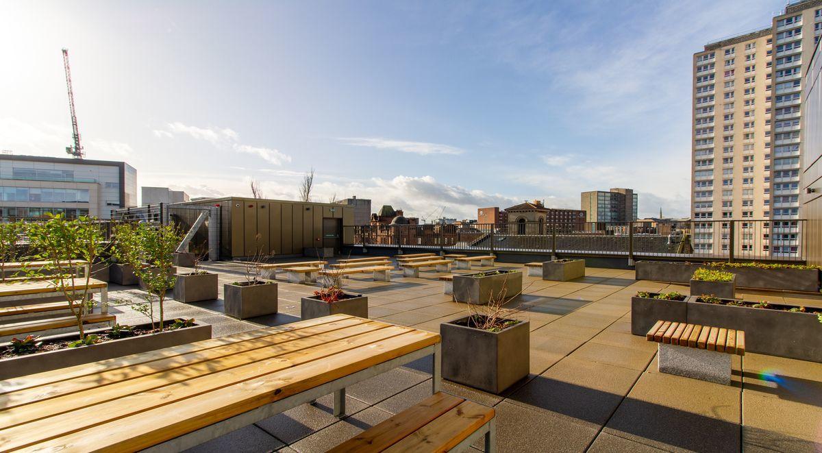 Base Glasgow Roof Terrace