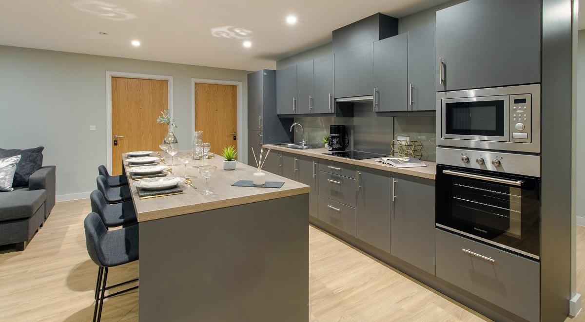 Student Accommodation Leeds Kitchen