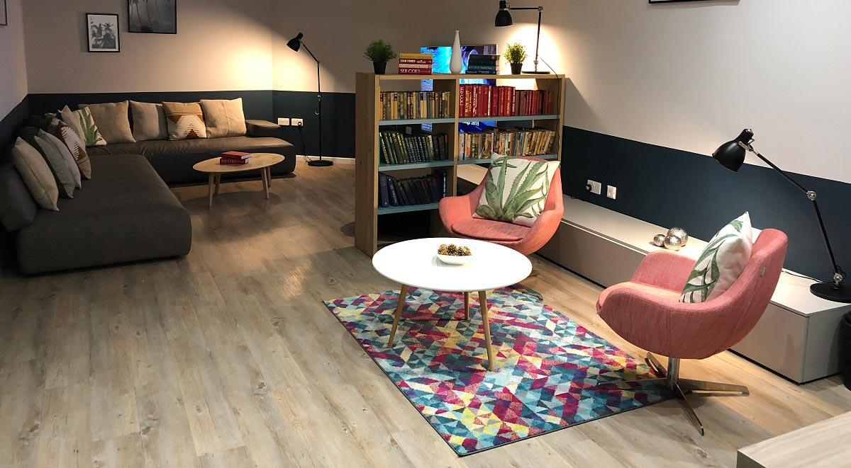 Communal Area Viridian Studios