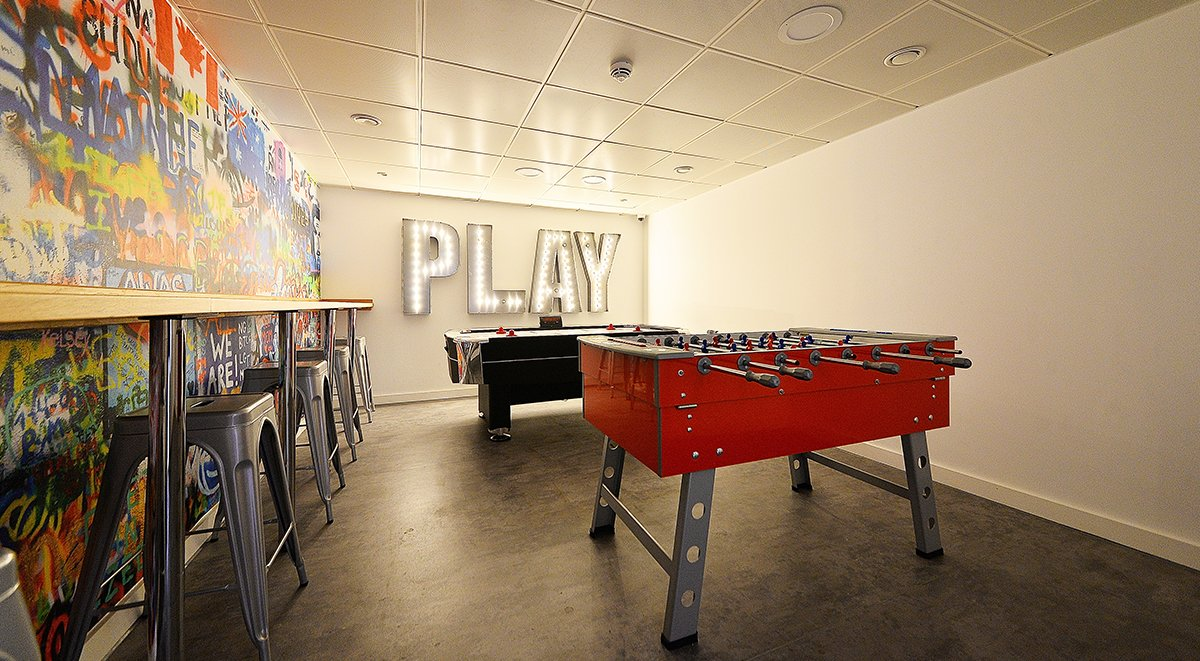 Game Room Student Accommodation Birmingham