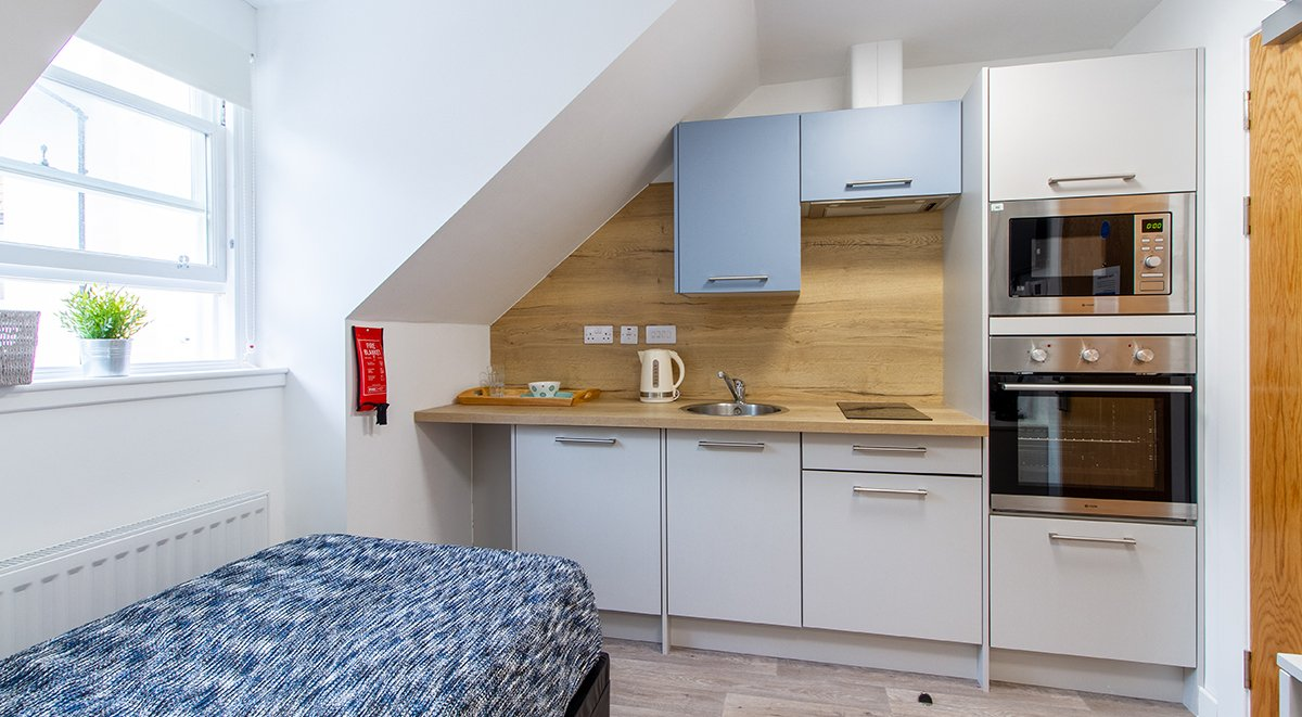 Goods Corner Single Studio Student Accommodation Edinburgh