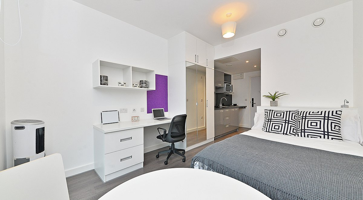 Premium Studio Student Accommodation Birmingham
