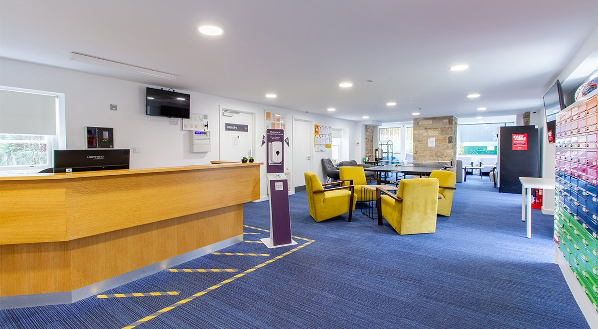 Goods Corner Reception Student Accommodation Edinburgh