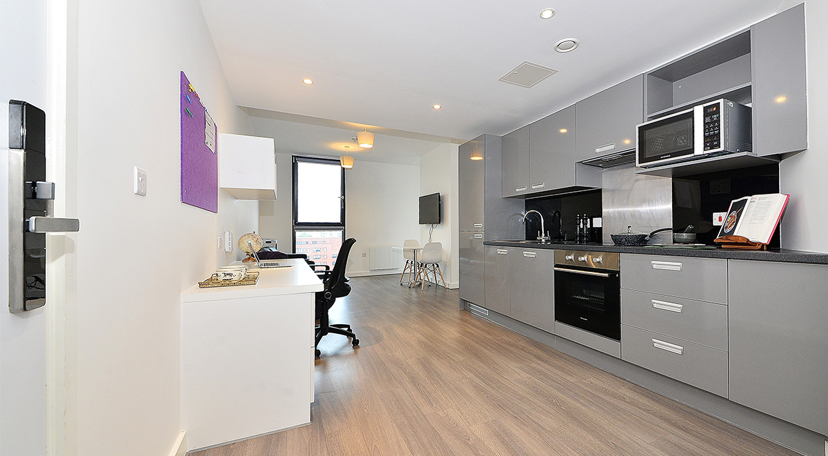 One Bed Apartment Student Accommodation Birmingham
