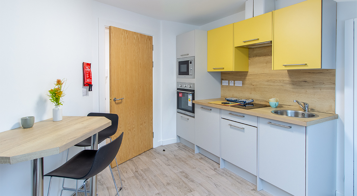 Goods Corner Two Bed Apartment Student Accommodation Edinburgh
