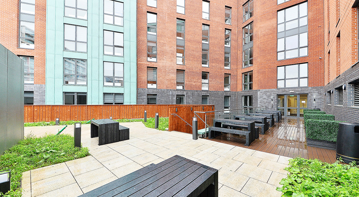 Student Accommodation Miura Courtyard