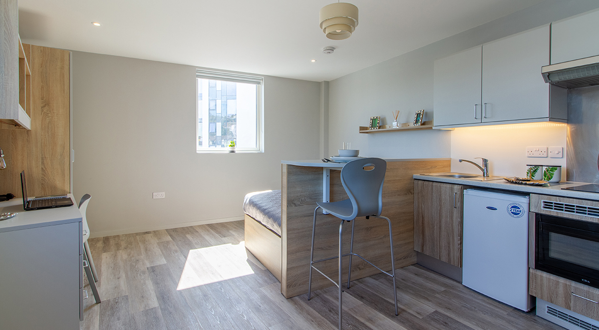 Premium Studio Renslade House Exeter