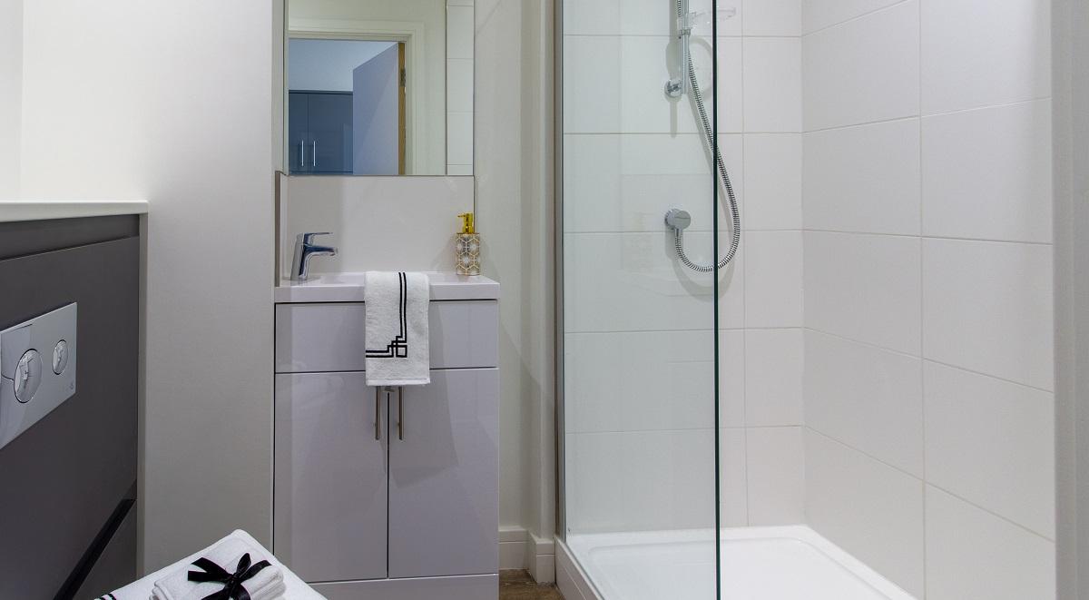 Kensington House Bathroom Student Accommodation