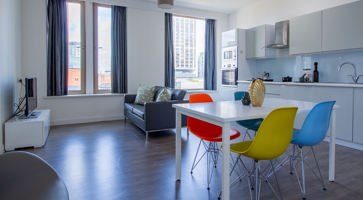 Kensington House Communal Area Student Accommodation