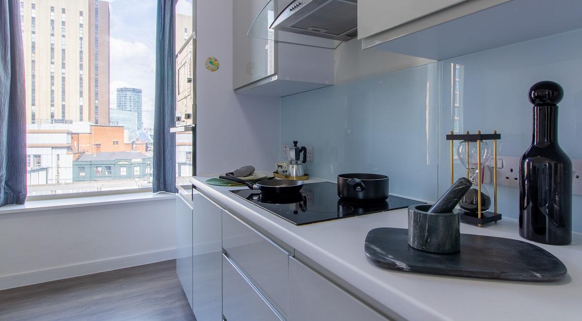 Kensington House Kitchen Student Accommodation