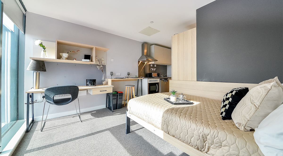 Premium Studio Straits Manor Student Accommodation Sheffield