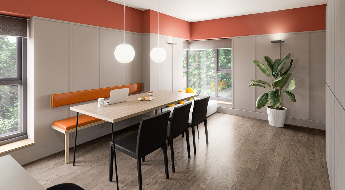 The Garage Kitchen Student Accommodation