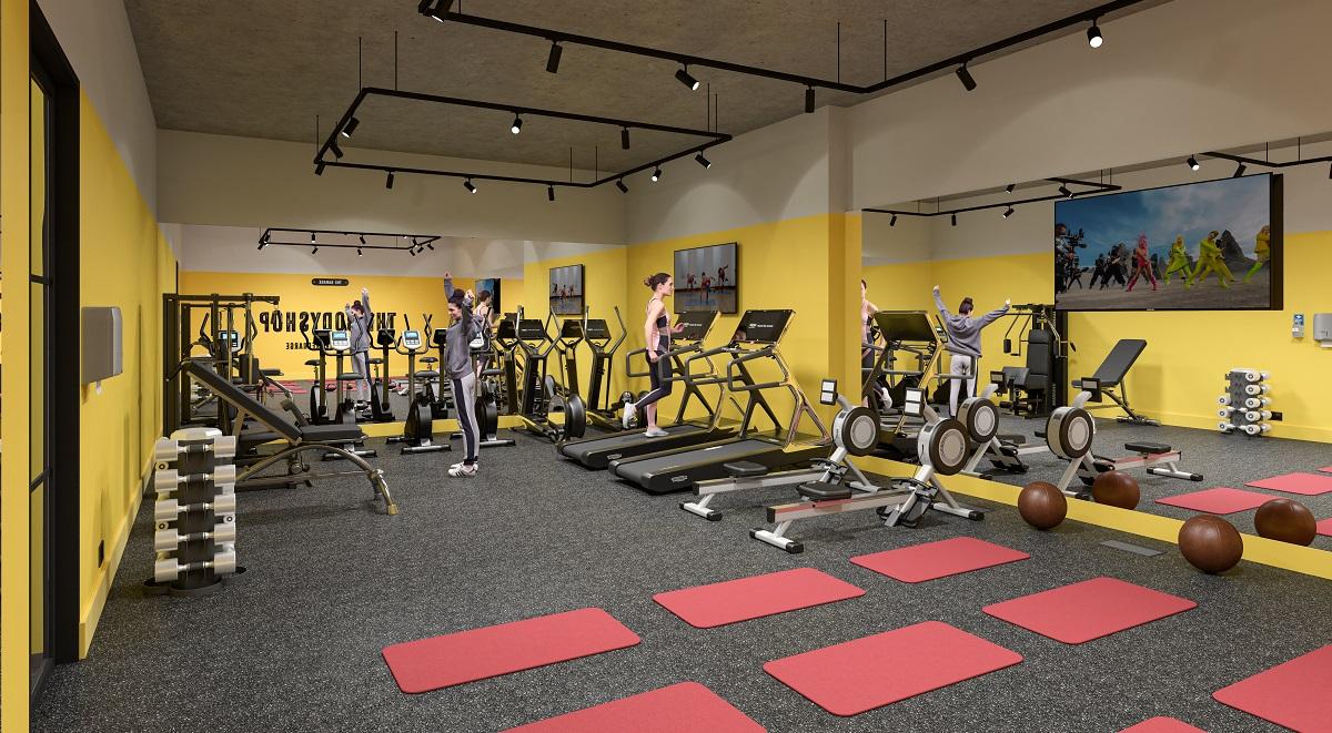 The Garage Gym Student Accommodation
