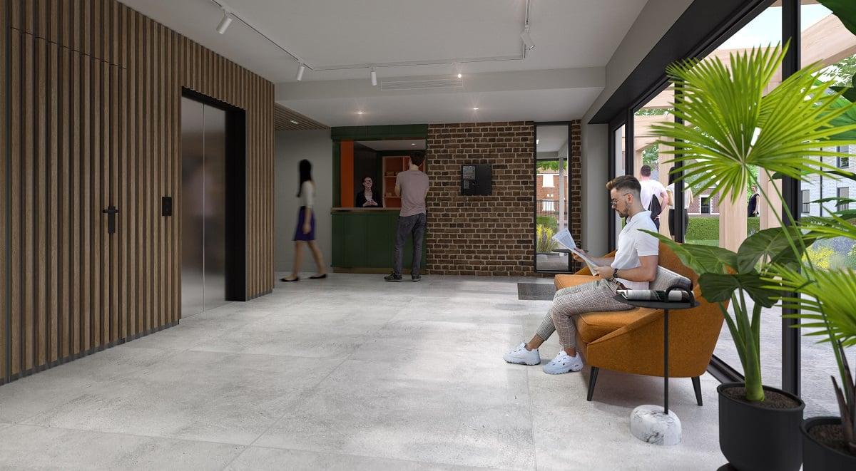 The Garage Reception Student Accommodation