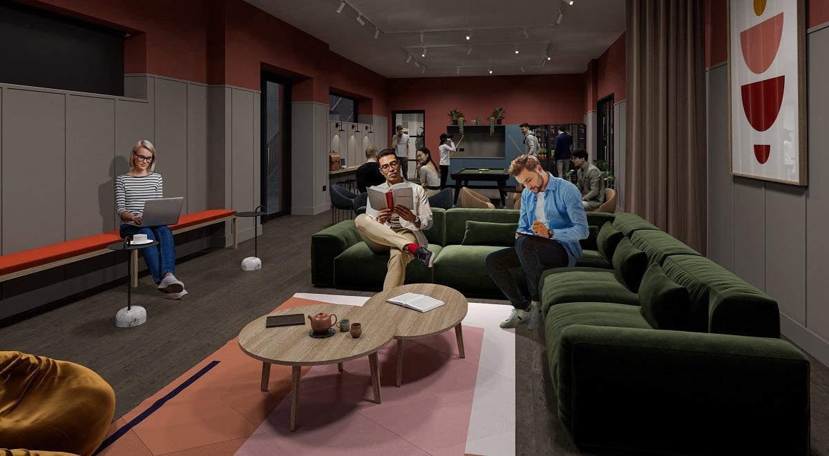 The Garage Communal Area Student Accommodation