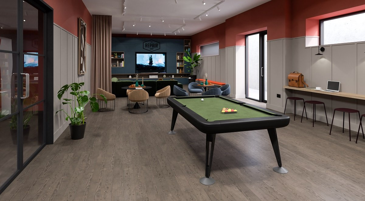 The Garage Games Room Student Accommodation