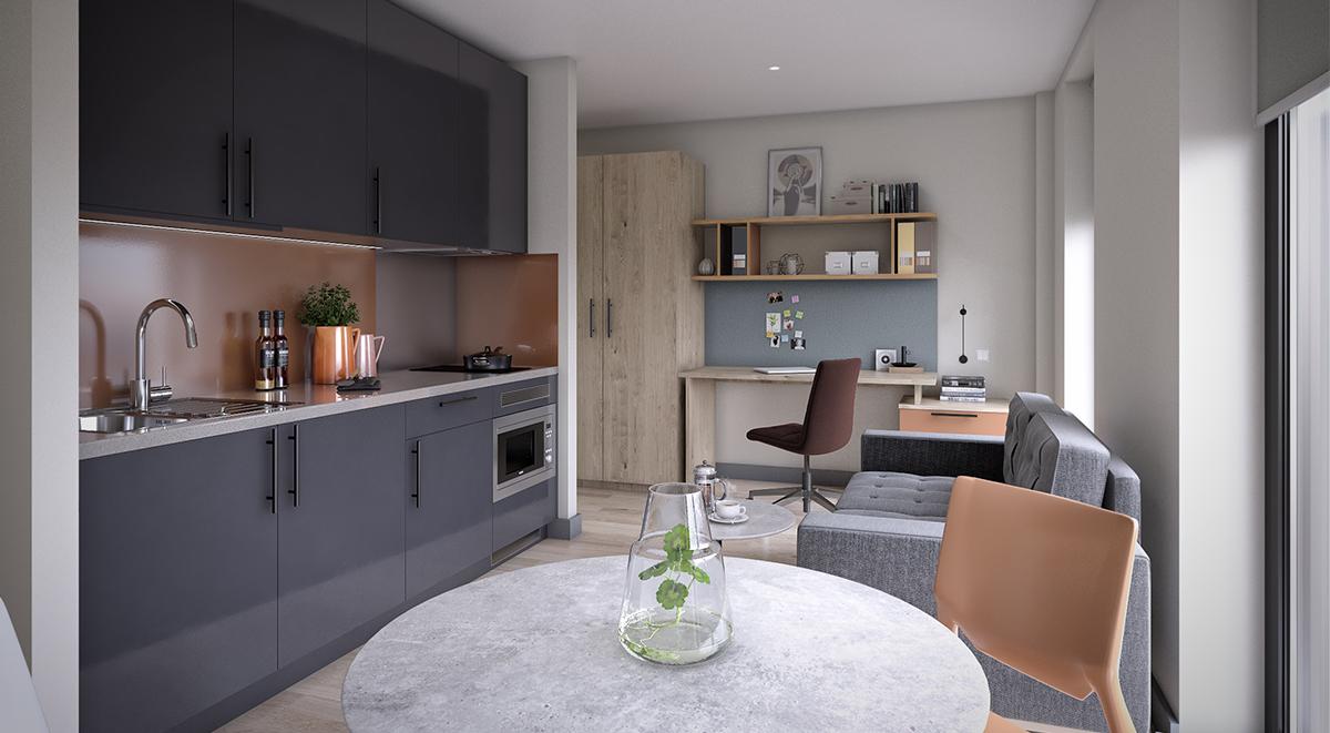 Student Accommodation Bowline Studio Liverpool