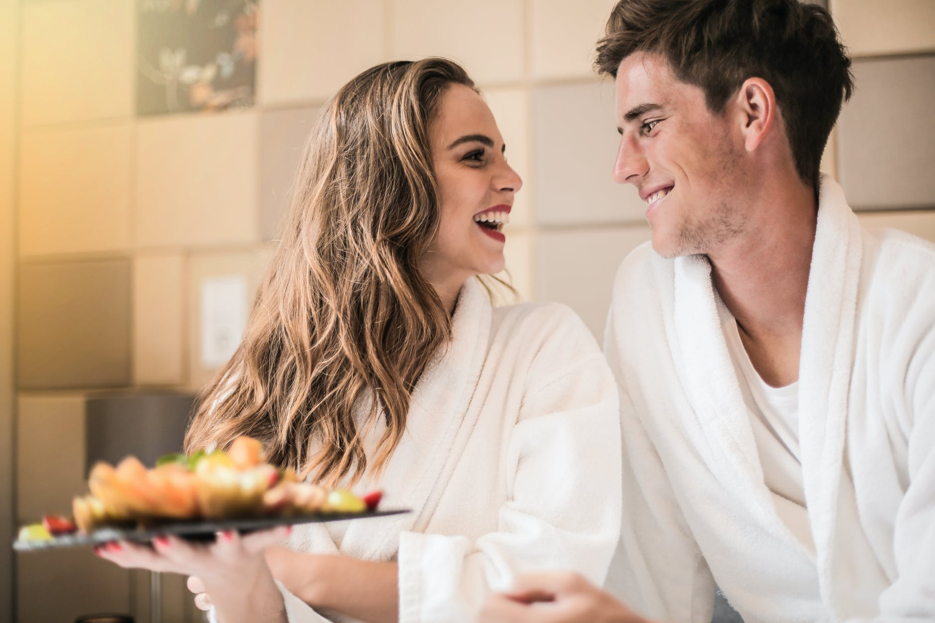 cook a romantic valentine's meal together