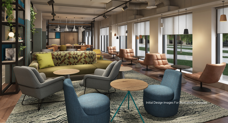 Student Accommodation Bowline Lounge Liverpool