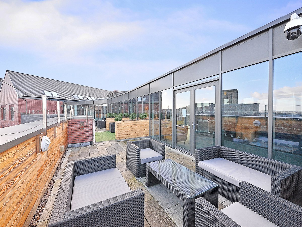 Steel City Roof Terrace Student Accommodation Sheffield