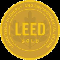LEED Gold certificate logo