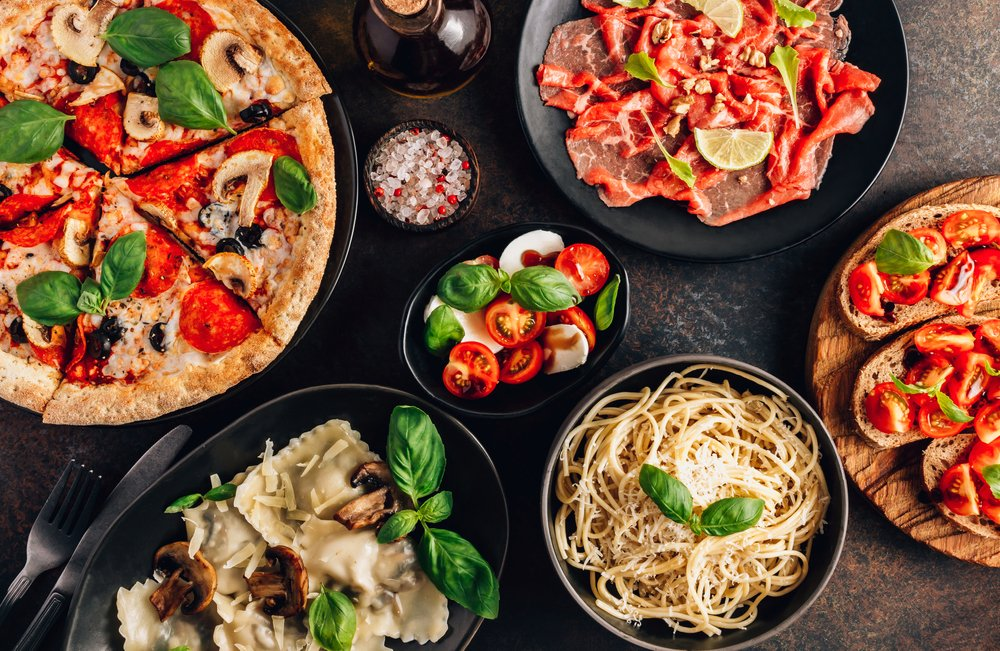 italian places to eat in guildford