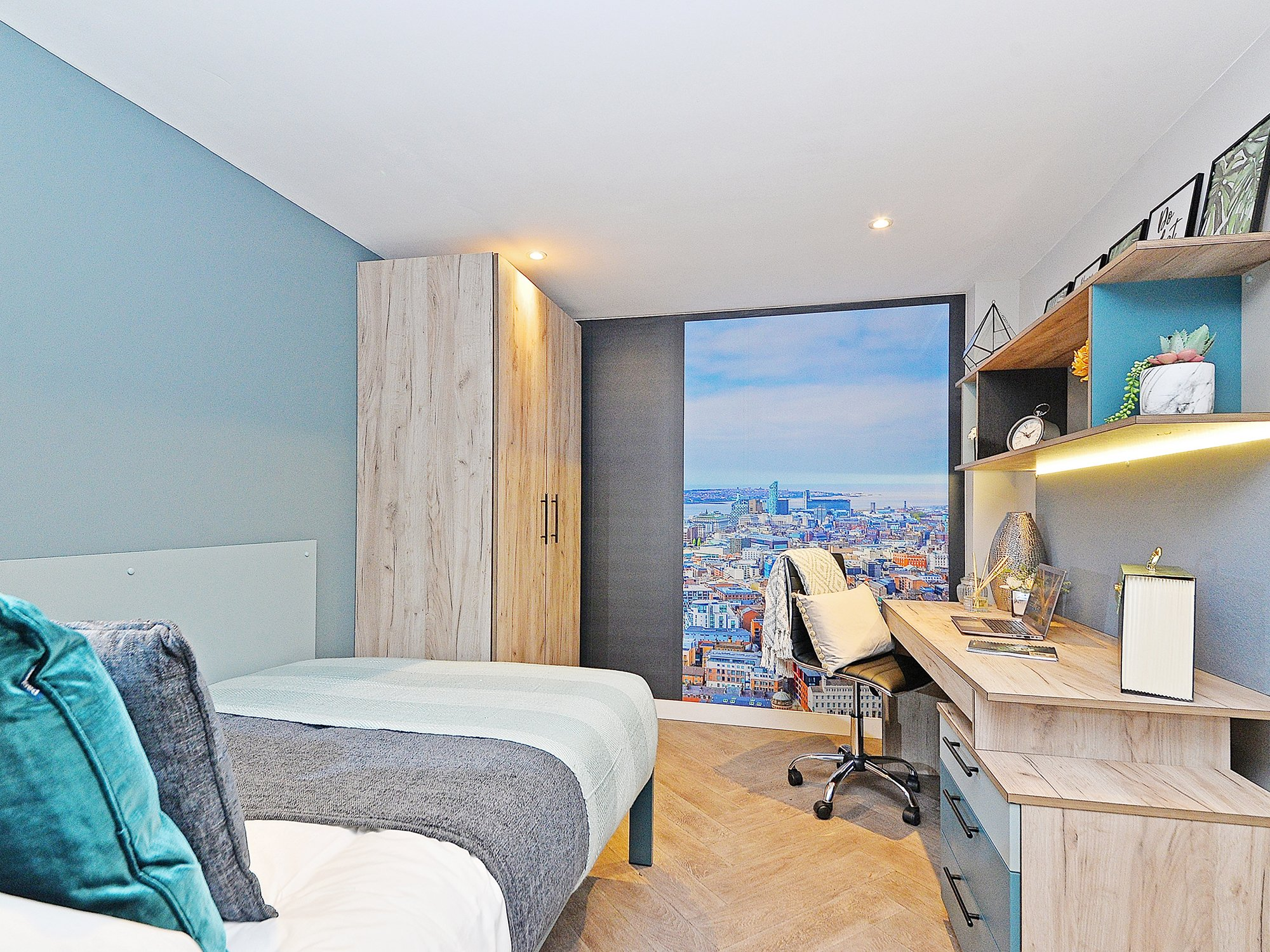 Student Accommodation Bowline Room Liverpool