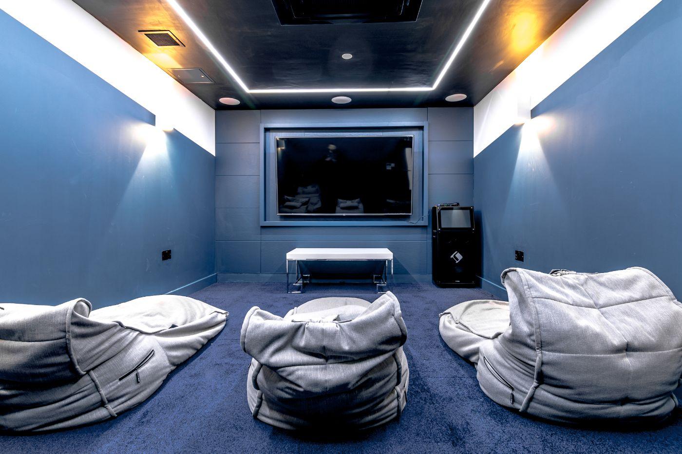 33 Parkside student accommodation cinema 3