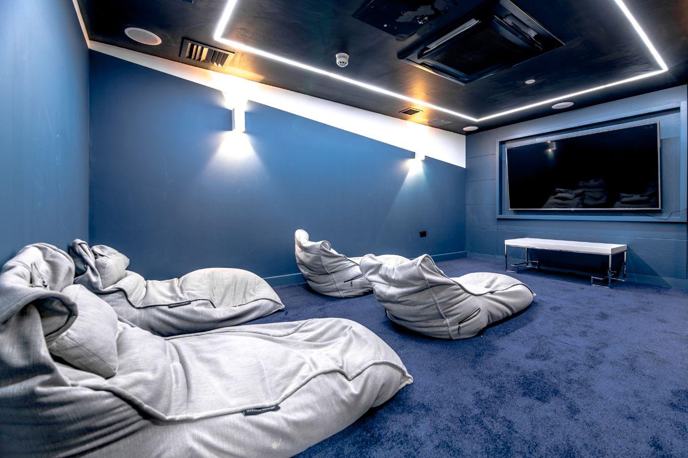 33 Parkside student accommodation cinema