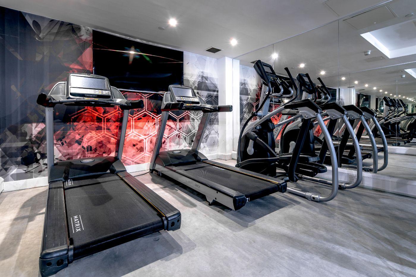 33 Parkside student accommodation gym