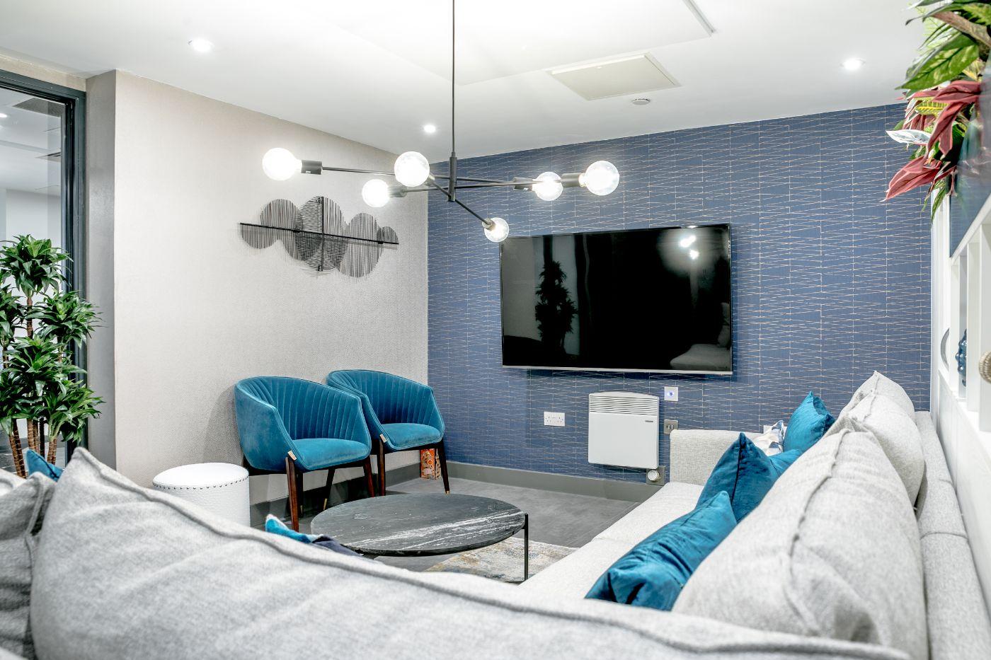 33 Parkside student accommodation lounge 8