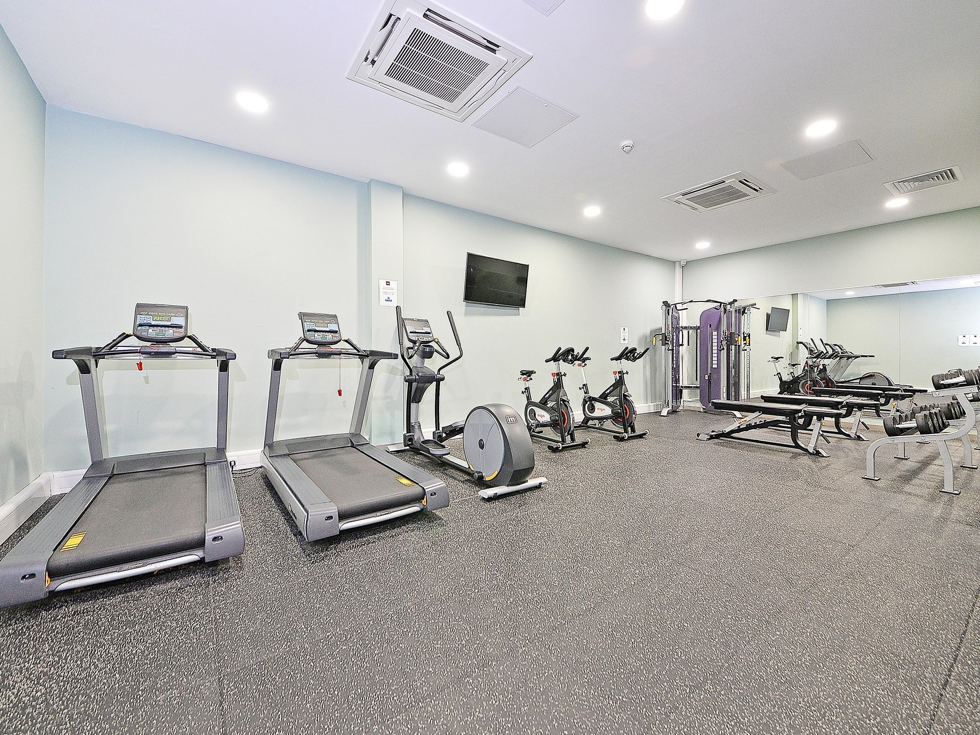 Fontenoy Apartments student accommodation gym