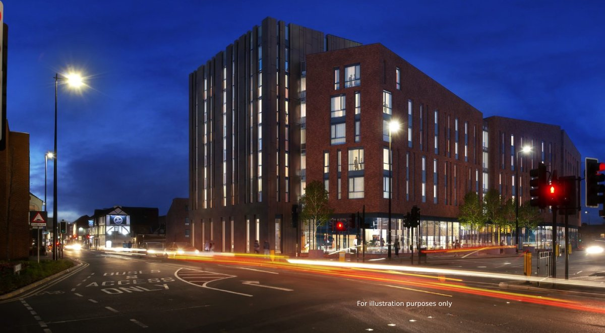 Luxurio exterior student accommodation loughborough