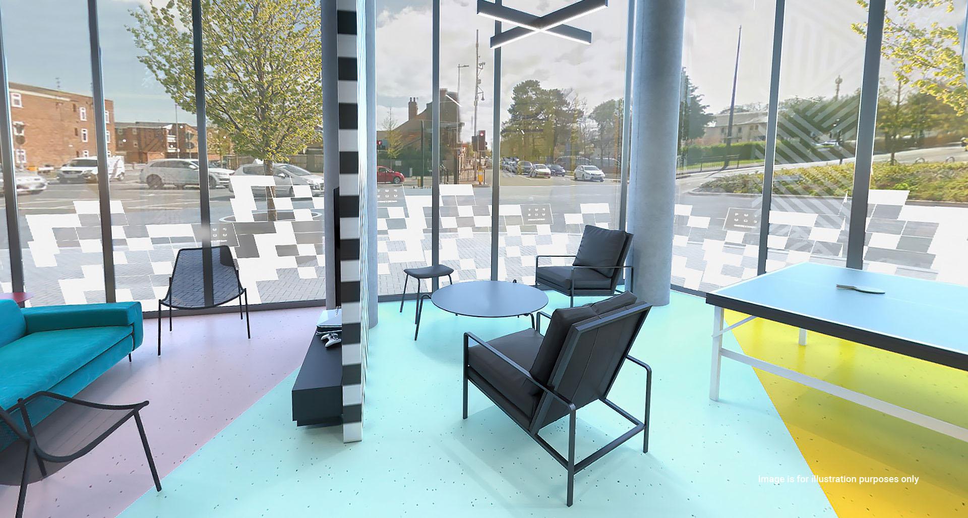 Luxurio student accommodation games area 2