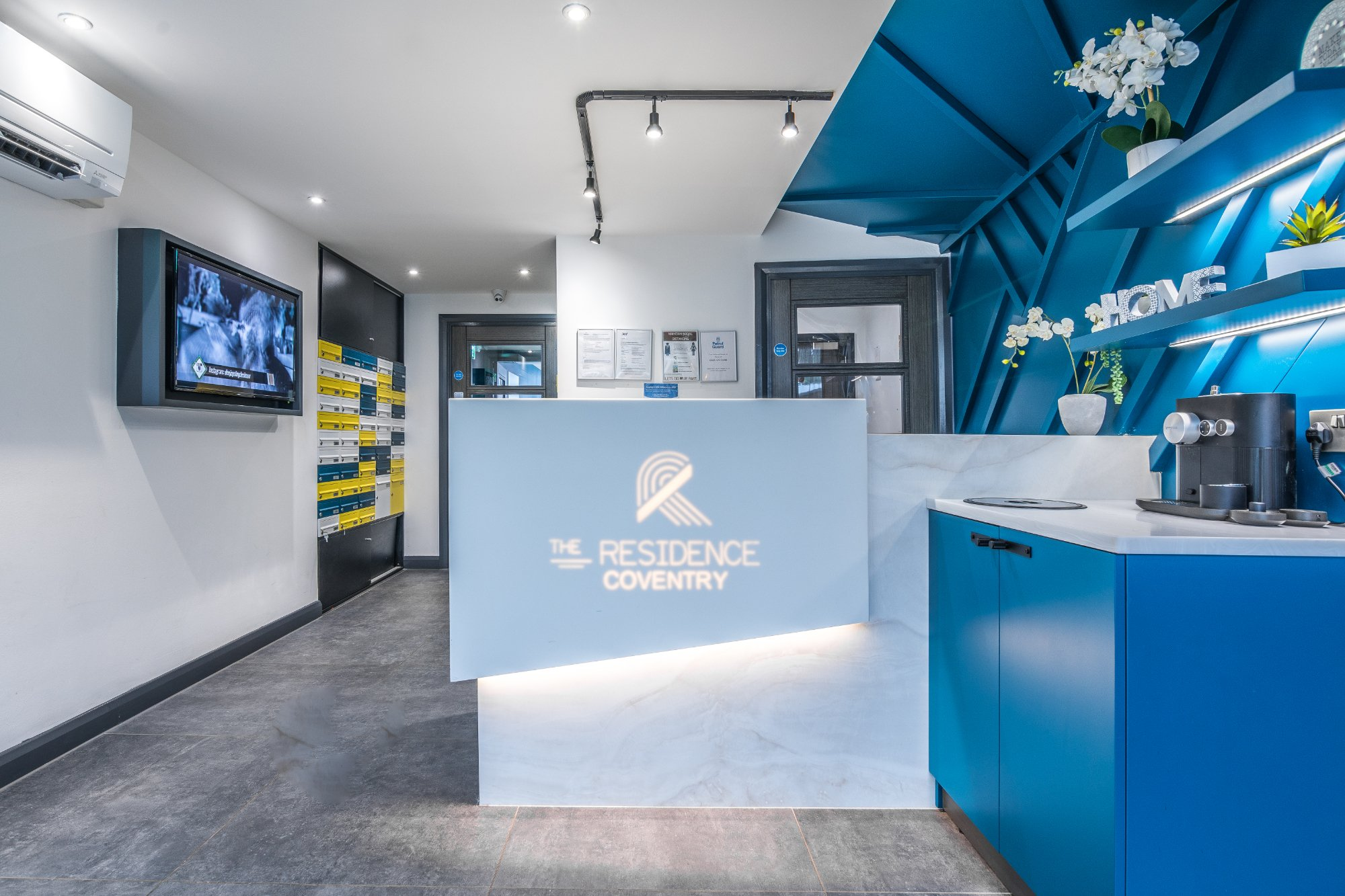 The Residence student accommodation coventry reception