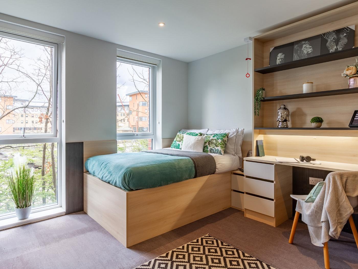 Bedroom in Hythe Mills